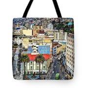 Valparaiso A Color Palette City Tote Bag