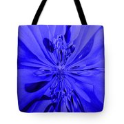 Values In Blue Tote Bag