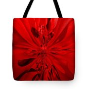 Values In Red Tote Bag