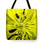 Values In Yellow Tote Bag