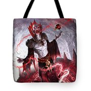 Vampire Soul-channeler Tote Bag by Ryan Barger