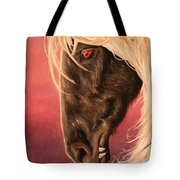 Vampire's Steed Tote Bag