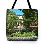 Van Gogh - Courtyard In Arles Tote Bag