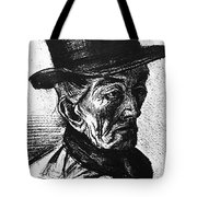 Man With Top Hat Tote Bag