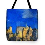 Van Gogh Meets Manhattan Tote Bag
