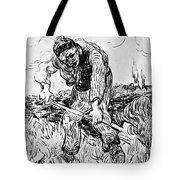 Peasant Hoeing Tote Bag