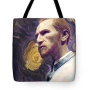 Van Gogh Portrait Tote Bag