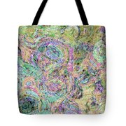 Van Gogh Style Abstract I Tote Bag