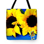 Van Gogh's Sunflower Miniature Art Tote Bag