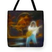 Van Halen-91-ge7a-fractal Tote Bag