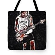 Van Halen-93-mike-gc23-fractal Tote Bag