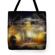 Van Halen-ou812-alex-f24a-fractal Tote Bag