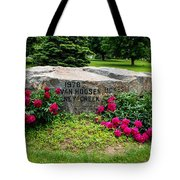 Van Hoosen Jones Stoney Creek Entrance Stone Tote Bag