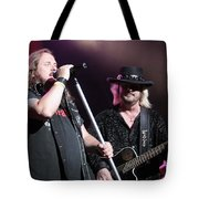 Van Zant - Johnny With Donnie Tote Bag