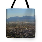 Vancouver At A Glance Tote Bag