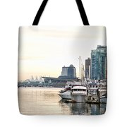 Vancouver Boats  Tote Bag