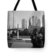 Vancouver Canada Skyscrapers And Park Tote Bag