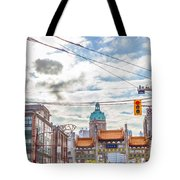Vancouver China Town Tote Bag