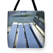 Vancouver Frosty Morning Tote Bag by Marilyn Wilson