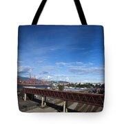 Vancouver Shipyards Tote Bag