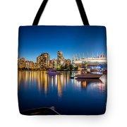 Vancouver Skyline - By Sabine Edrissi Tote Bag