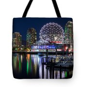 Vancouver Telus World Of Science - By Sabine Edrissi Tote Bag