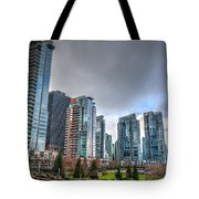 Vancouver Waterfront Tote Bag