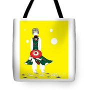 Vanguard Girl Tote Bag