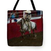 Vaquero Number 2 Rodeo Chandler Arizona 2002 Tote Bag