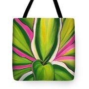 Variegated Delight Painting Tote Bag by Lisa Bentley