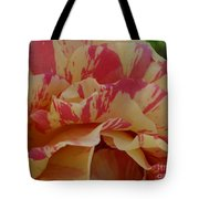 Variegated Rose Tote Bag