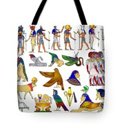Various Themes Of Ancient Egypt Tote Bag
