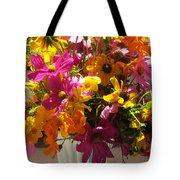 Vase Flowers Tote Bag