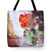 Vase Of Flowers II Tote Bag