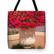 Vase Of Petunias Tote Bag