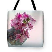 Vase Of Pretty Pink Sweet Peas 2 Tote Bag