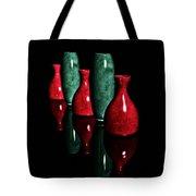 Vases In Dark Tote Bag