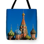 Vasily The Blessed Cathedral On Moscow Red Square - Featured 2 Tote Bag