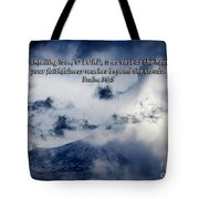 Vast As The Heavens Tote Bag