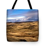 Vast View Of The Rolling Hills Tote Bag by Robert Bales