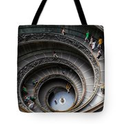 Vatican Spiral Staircase Tote Bag