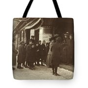 Vaudeville Audience, 1912 Tote Bag