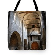 Vaulted Roof St Philibert - Tournus Tote Bag