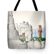 Vaulting Tote Bag