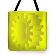 Vector Gears Tote Bag