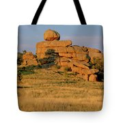 Vedauwoo Rocks Sunset Wyoming Tote Bag