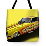 Vega Funny Car Tote Bag