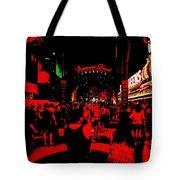 Vegas At Night Tote Bag