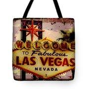 Vegas Destructed Tote Bag