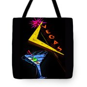 Vegas Martini Tote Bag